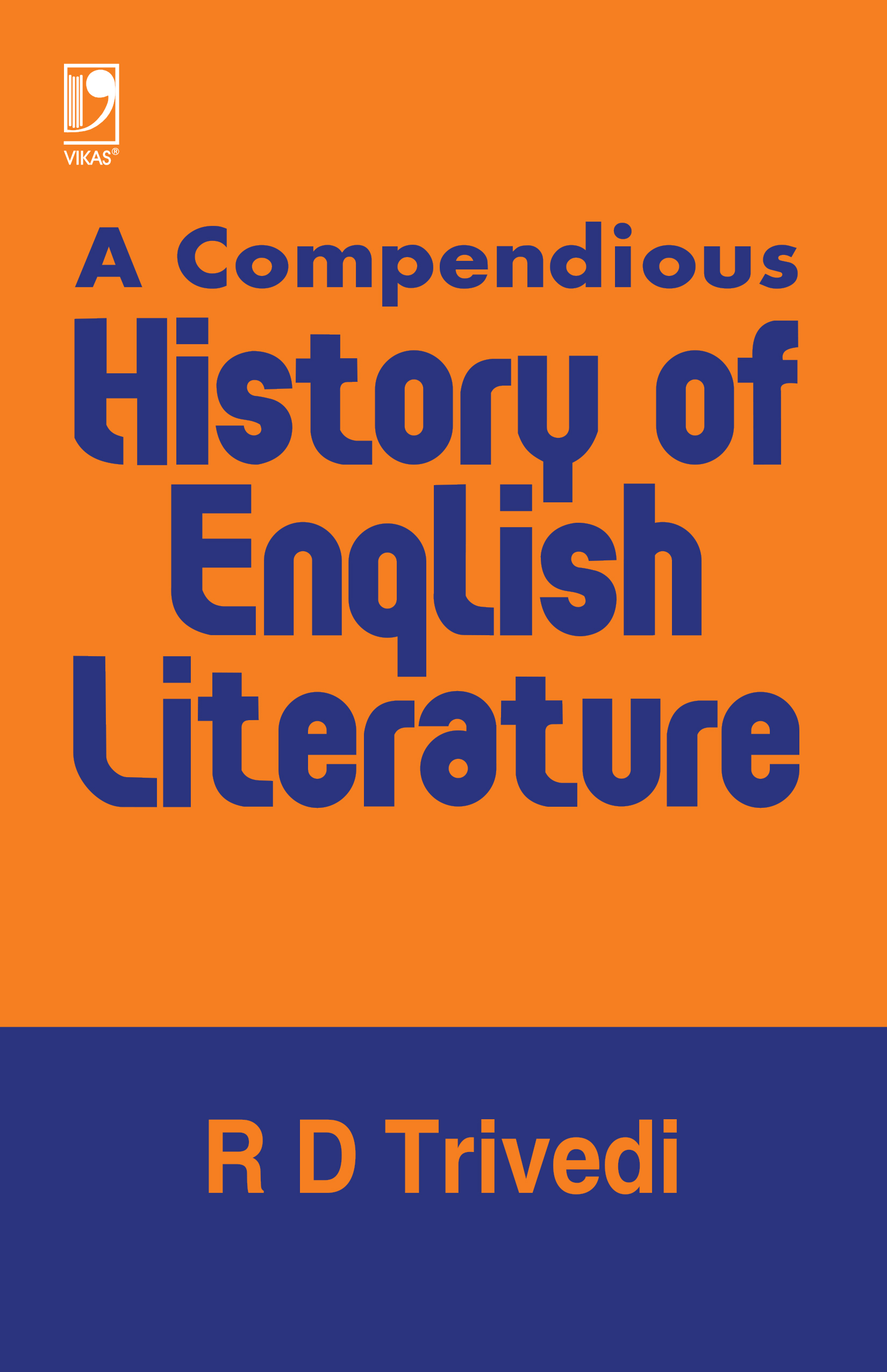 A Compendious History of English Literature, 1/e