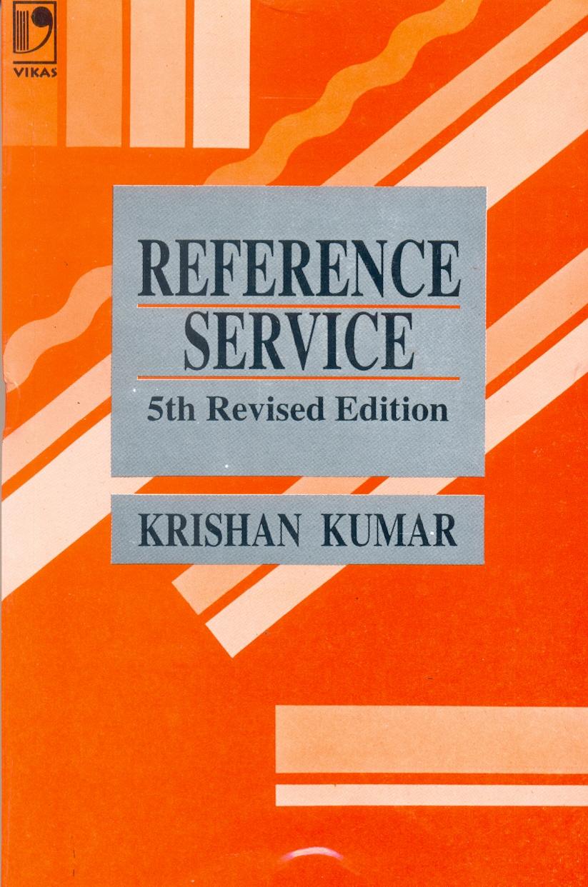 Reference Service, 5/e