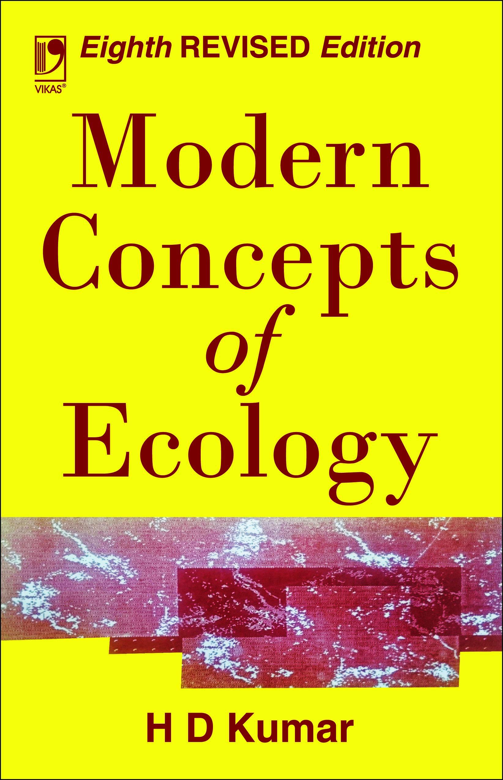 Modern Concept of Ecology, 8/e