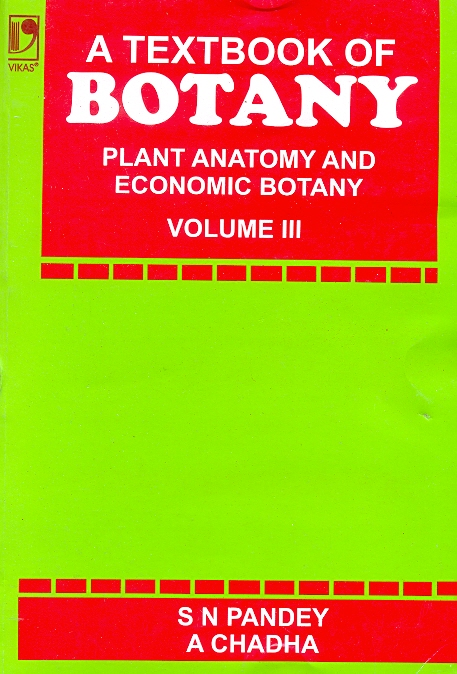 A Textbook of Botany Vol-3, 1/e