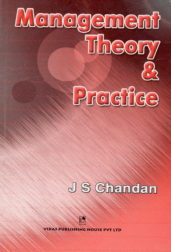 Management Theory and Practice, 1/e