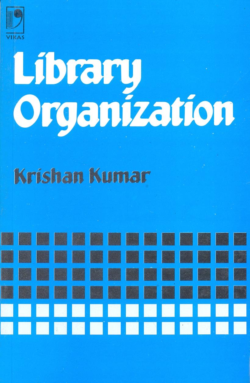 Library Organization, 1/e