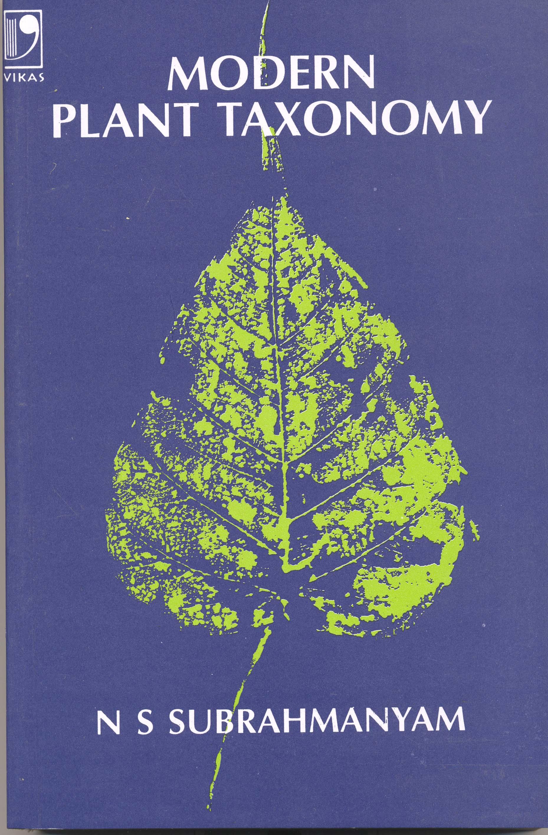Modern Plant Taxonomy, 1/e