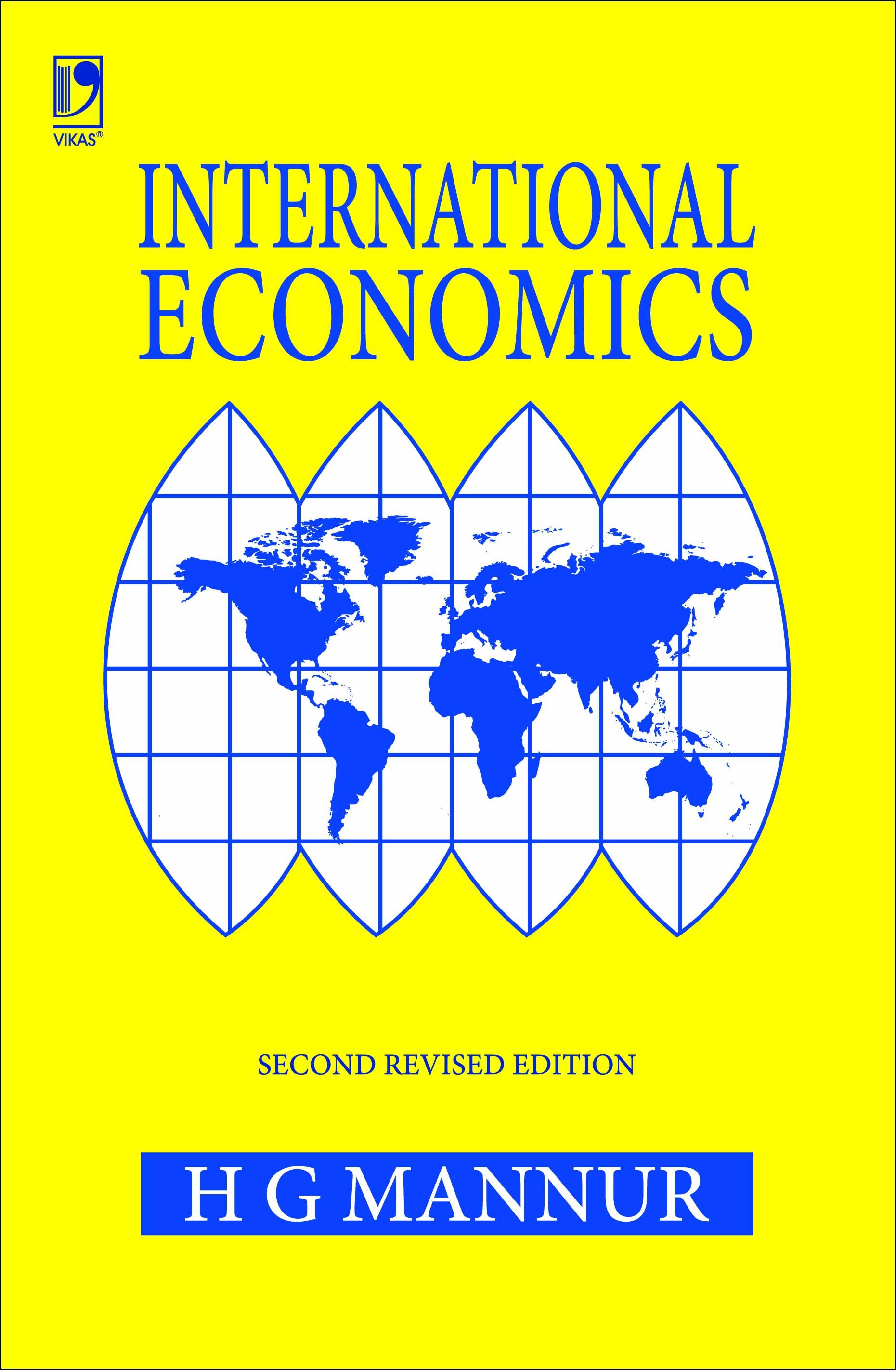 International Economics, 2/e  by  H G Mannur
