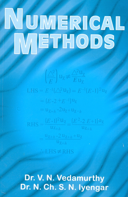 NUMERICAL METHODS by V N Vedamurthy