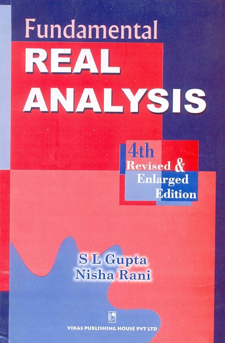 Fundamental Real Analysis, 4/e