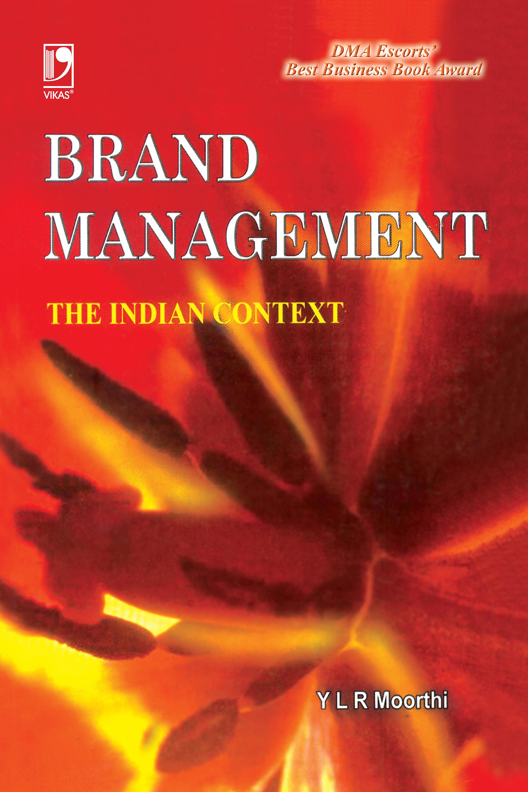 Brand Management, 1/e