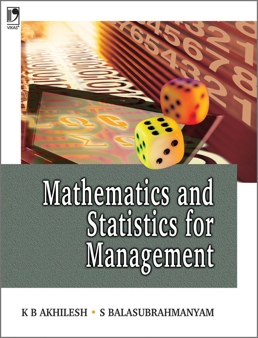 Mathematics and Statistics for Management, 1/e