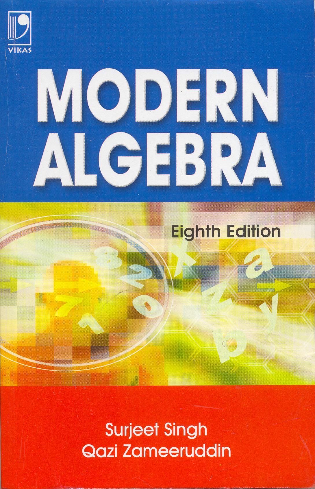 Modern Algebra, 8/e