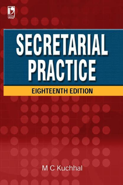 Secretarial Practice, 18/e