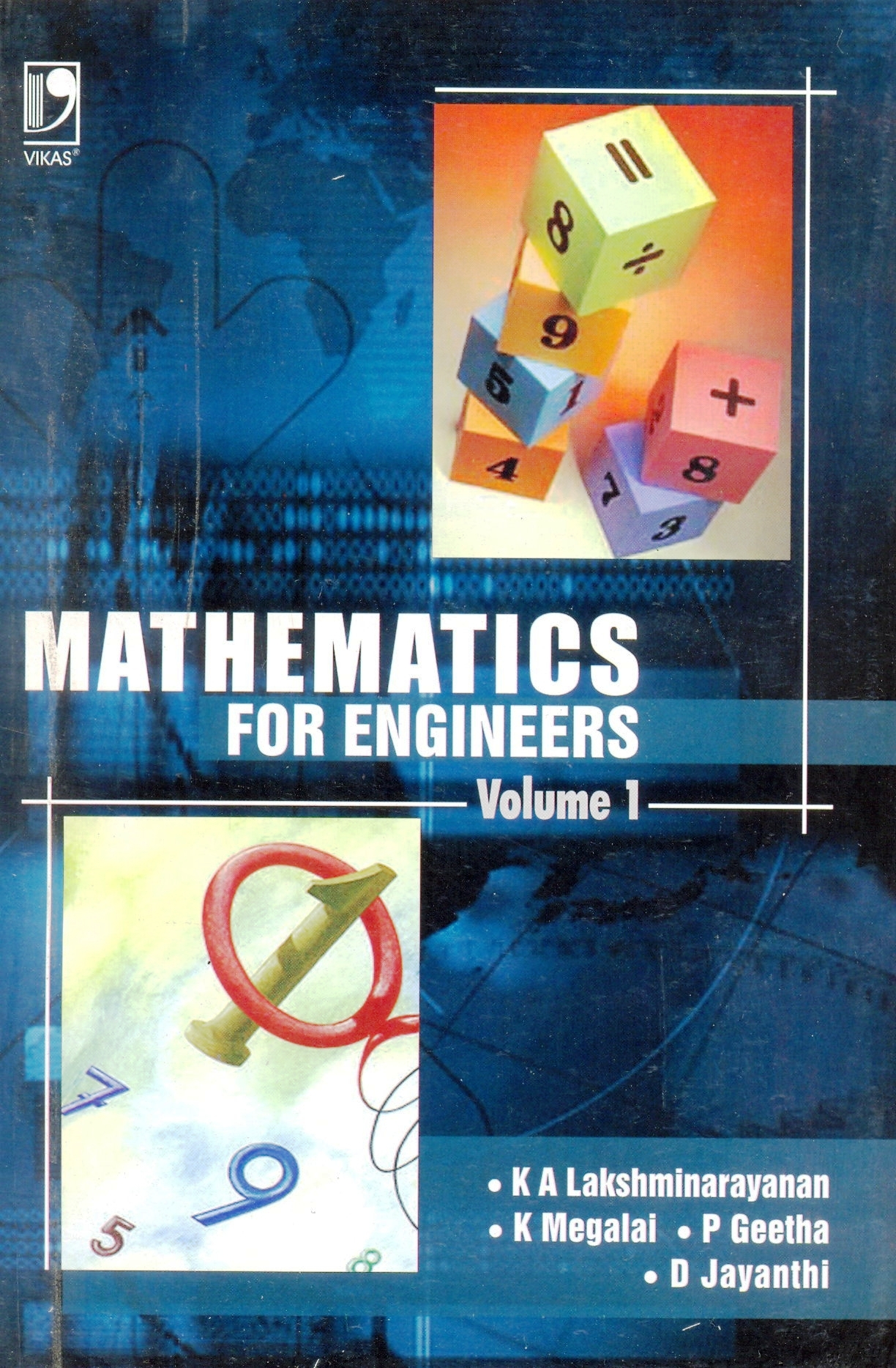 Mathematics for Engineers Vol 1, 1/e