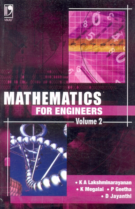 Mathematics for Engineers Vol 2, 1/e  by K Megalai