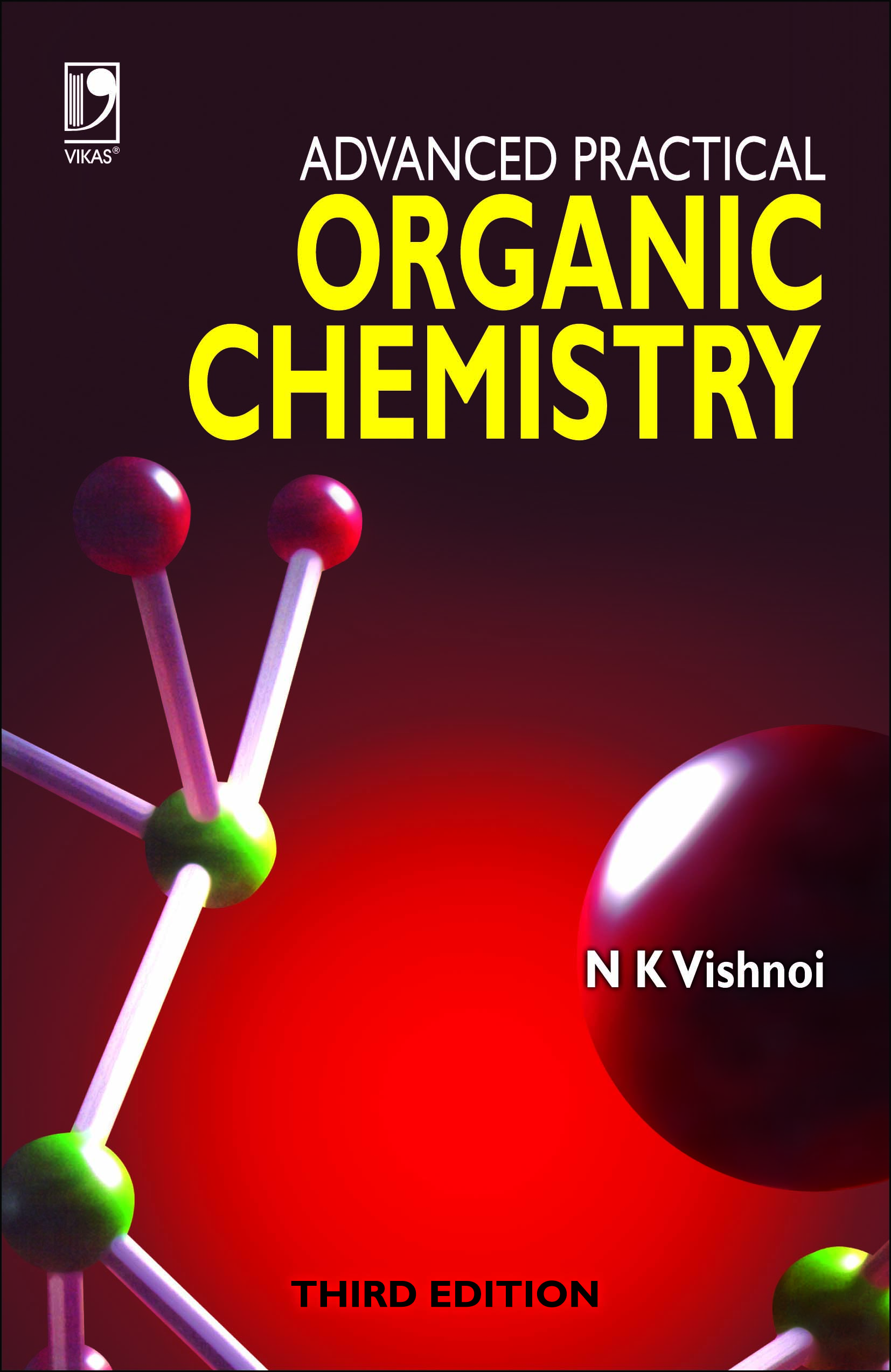 Advanced Practical Organic Chemistry, 3/e