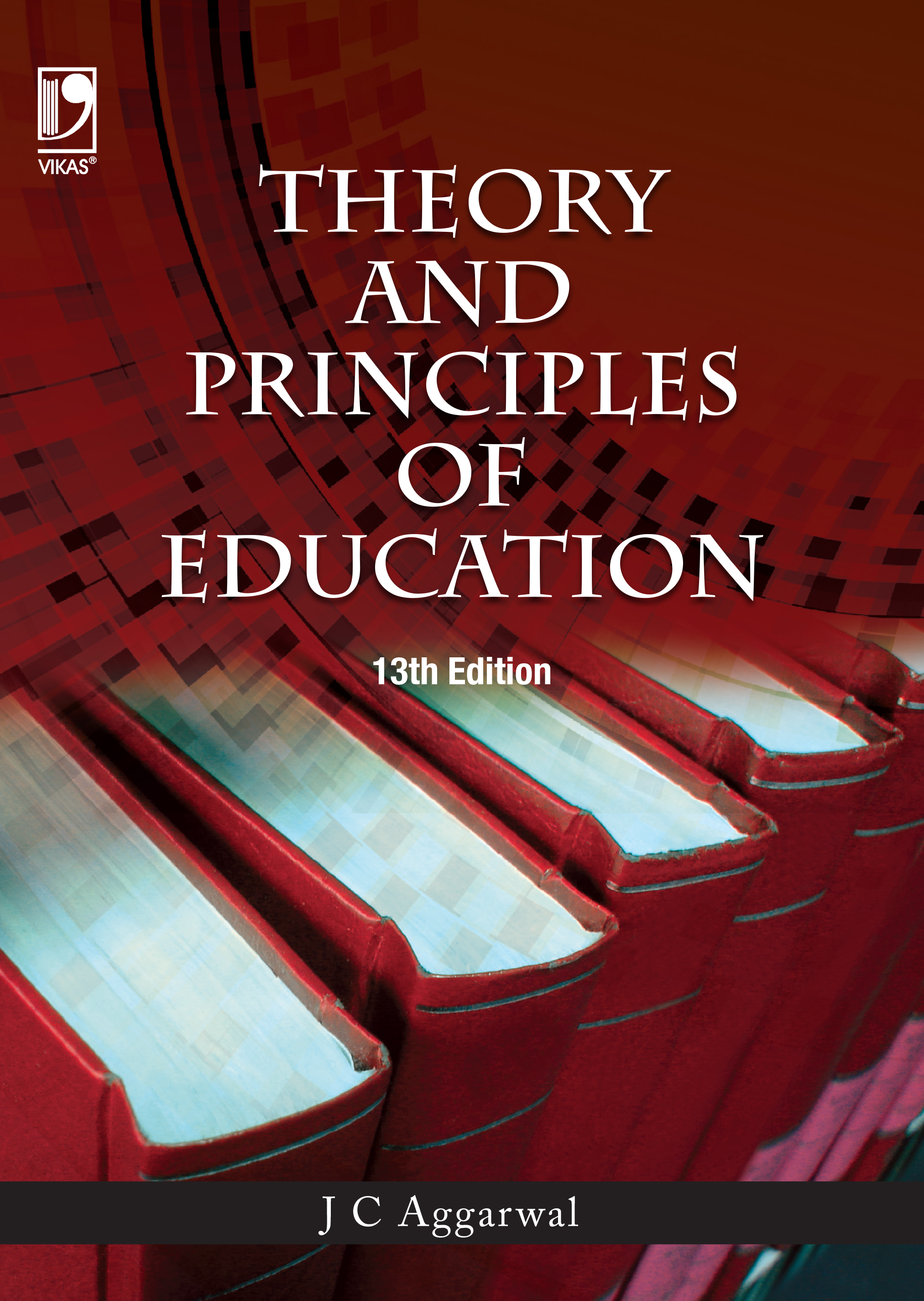 theory and principles of education  13e by j c  aggarwal