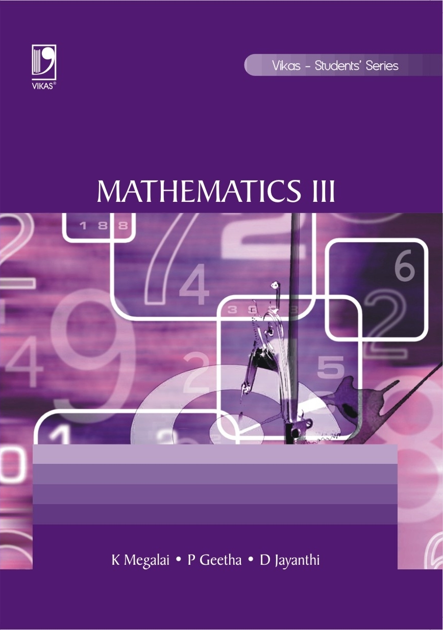 Mathematics III (ANNA), 1/e  by K Megalai