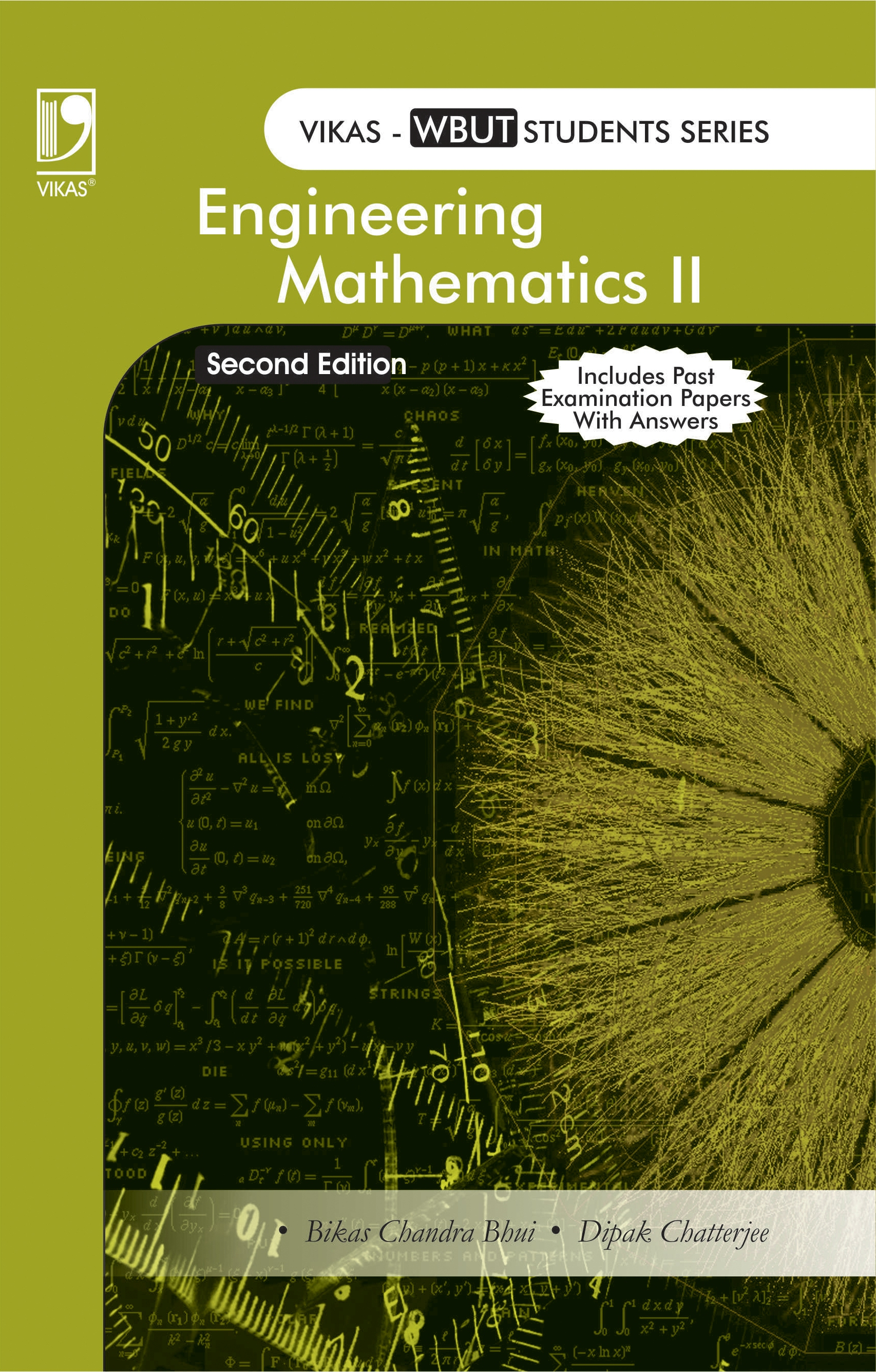 Engineering Mathematics Vol 2 (WBUT), 2/e  by  Bikas Chandra Bhui