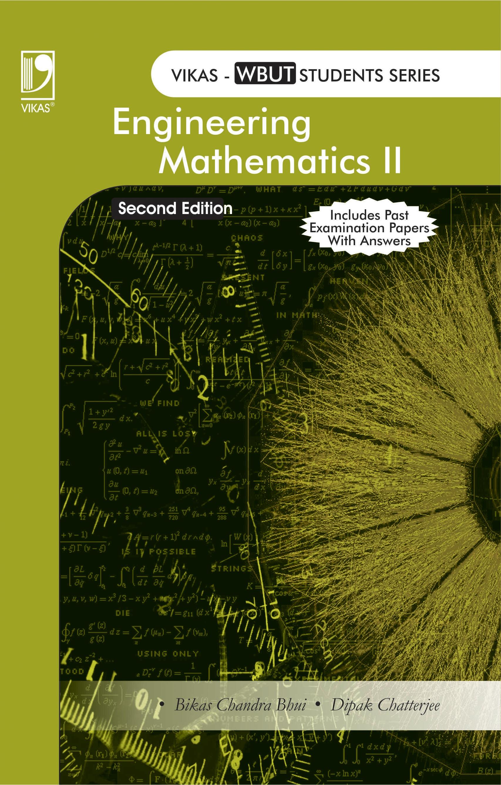 Engineering Mathematics Vol 2 (WBUT), 2/e  by  Bikas Chandra Bhui