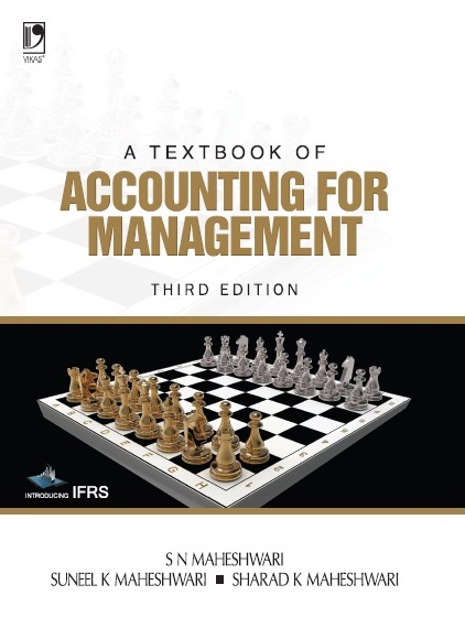 A TEXTBOOK OF ACCOUNTING FOR MANAGEMENT, 3/e