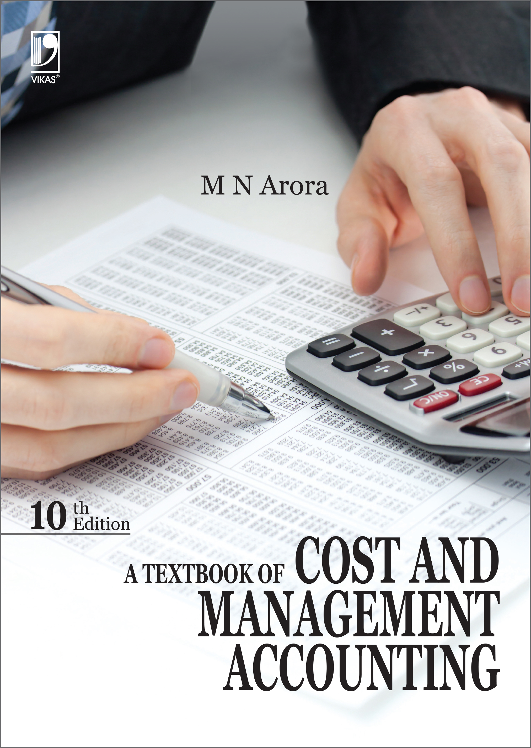 A Textbook of Cost and Management Accounting, 10/e