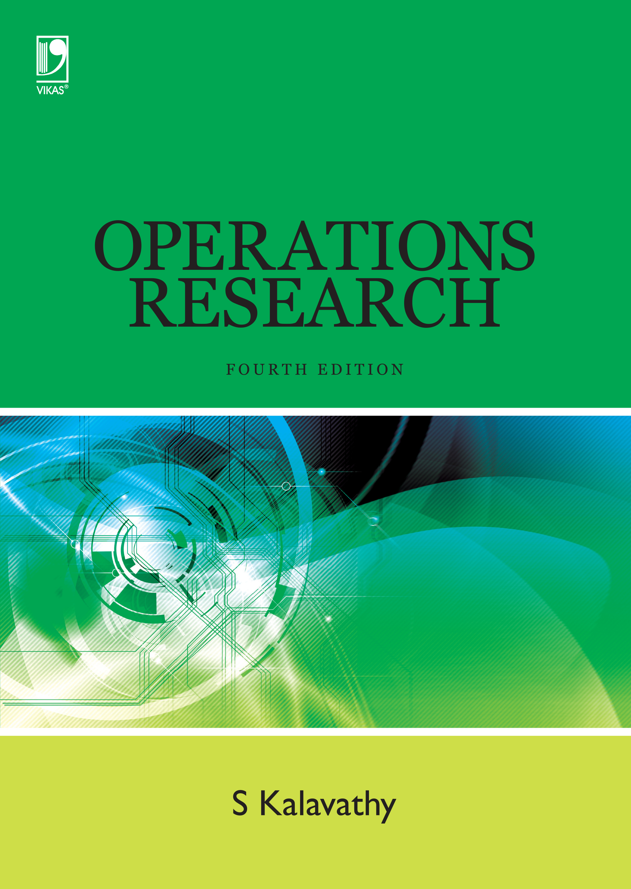 Operations Research, 4/e  by S Kalavathy