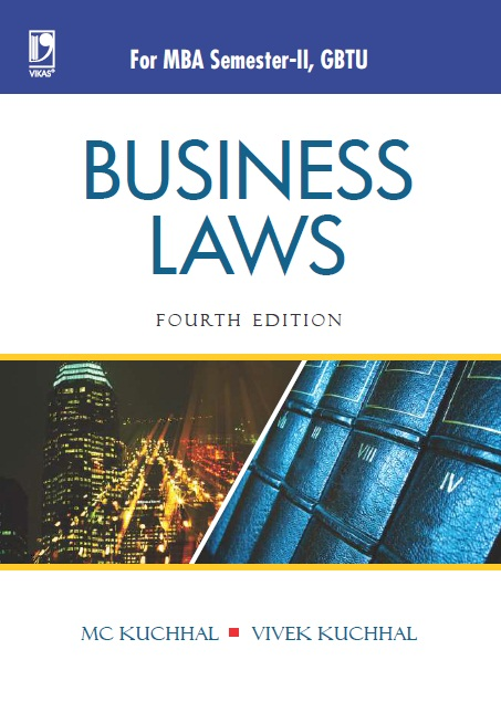 Business Laws - (GBTU), 4/e  by M C Kuchhal