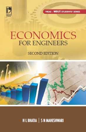Economics for Engineers (WBUT), 2/e  by  Dr H L Bhatia