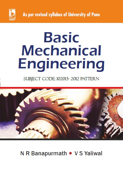 Basic Mechanical Engineering (University of Pune), 1/e