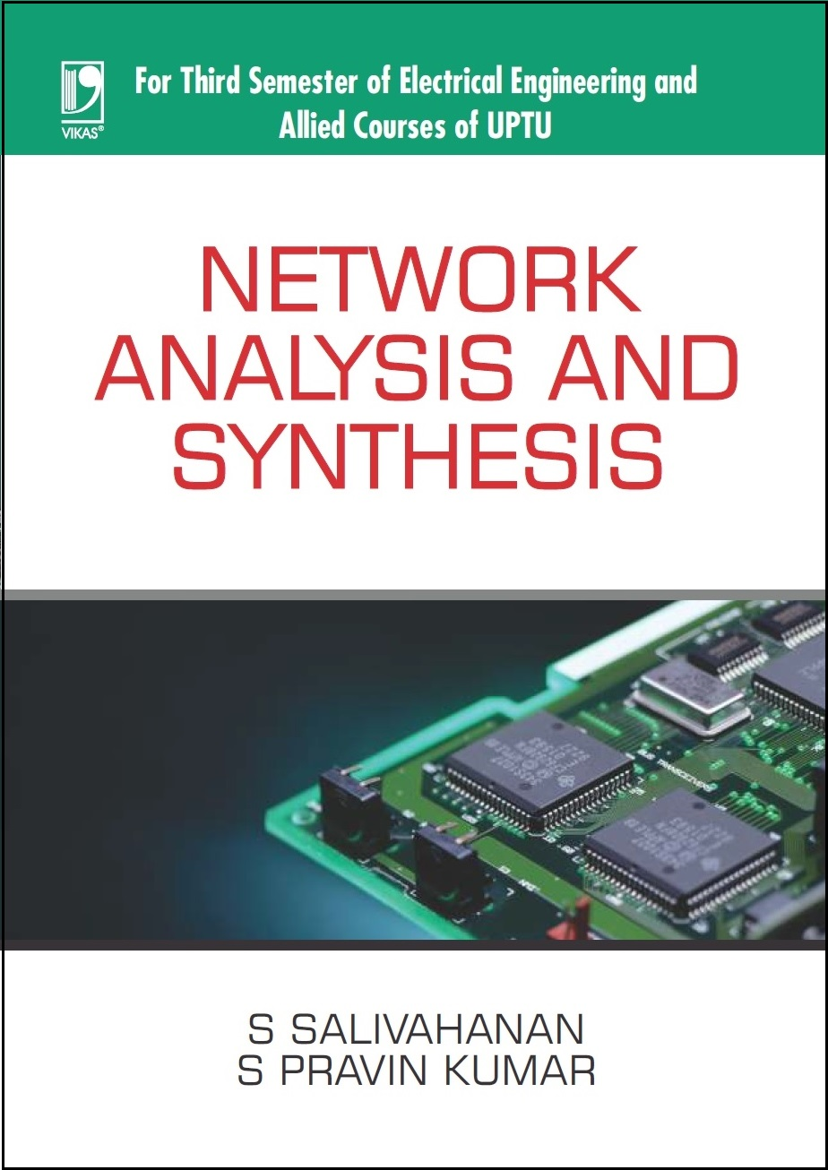 NETWORK ANALYSIS AND SYNTHESIS: (FOR UPTU) by  S. SALIVAHANAN