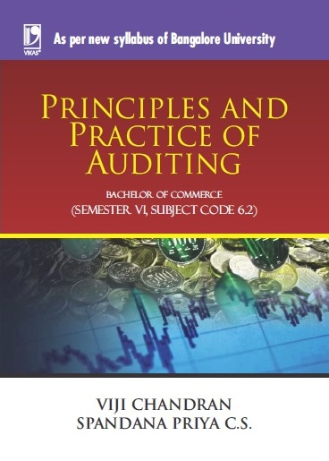 PRINCIPLES AND PRACTICE OF AUDITING: (FOR JGI - BANGALORE) by  VIJI CHANDRAN