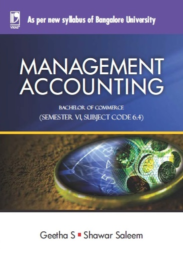 MANAGEMENT ACCOUNTING: (FOR JGI - BANGALORE)