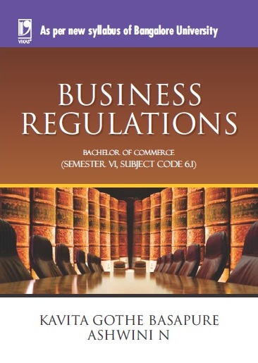 BUSINESS REGULATIONS: (FOR JGI-BANGALORE)