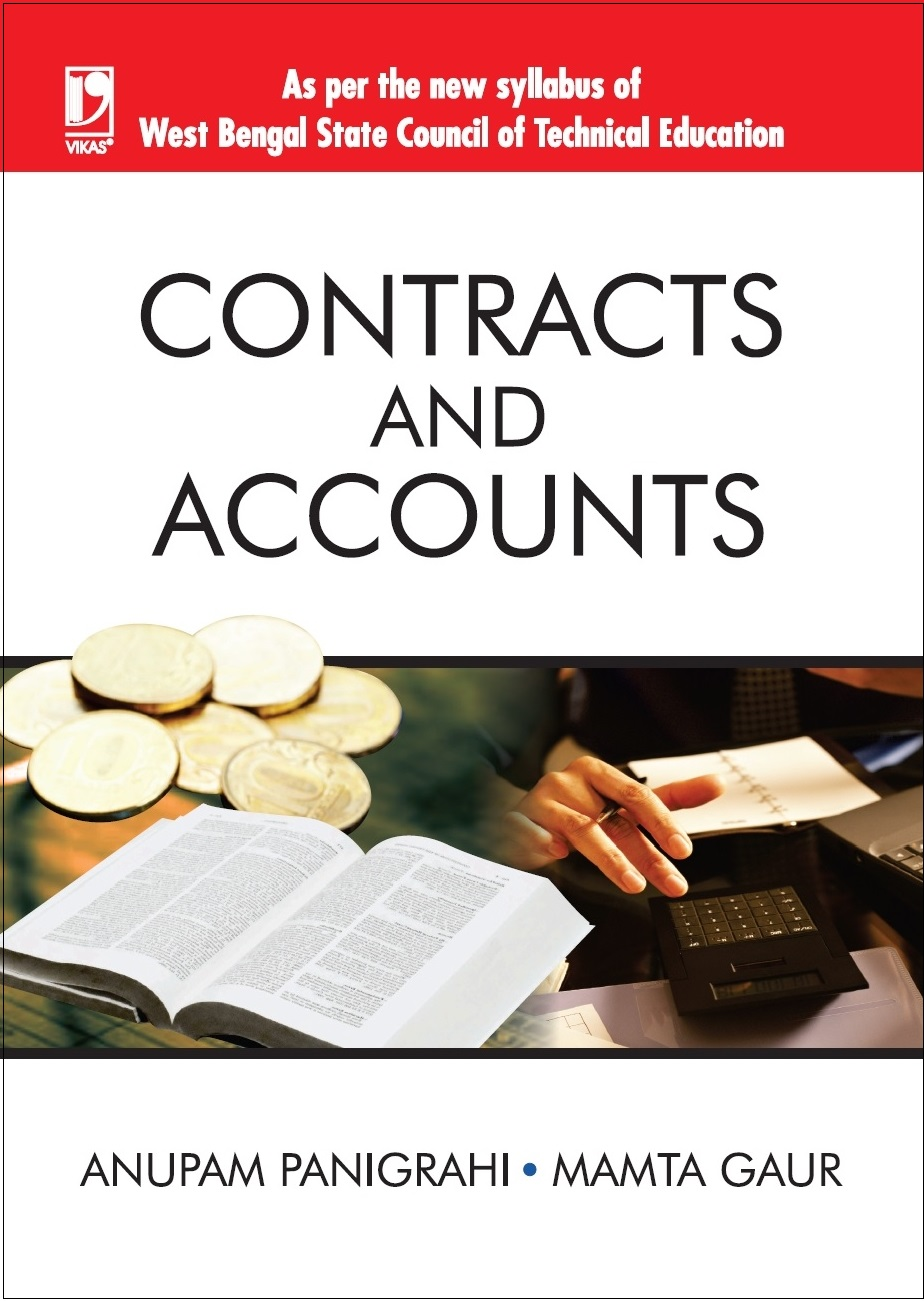 CONTRACTS & ACCOUNTS: (FOR WBSCTE) by  ANUPAM PANIGRAHI