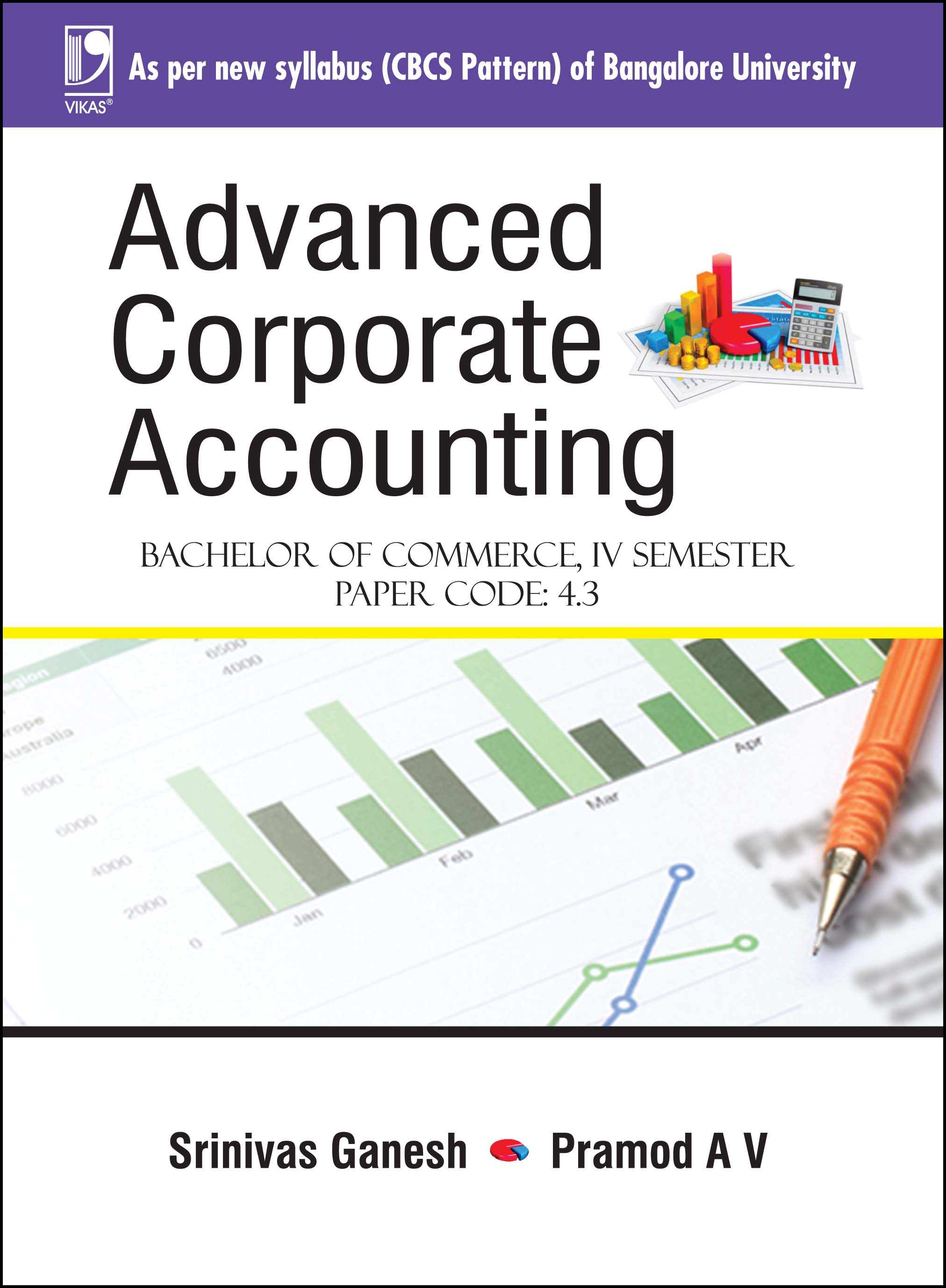 ADVANCED CORPORATE ACCOUNTING (FOR BANGALORE UNIVERSITY)