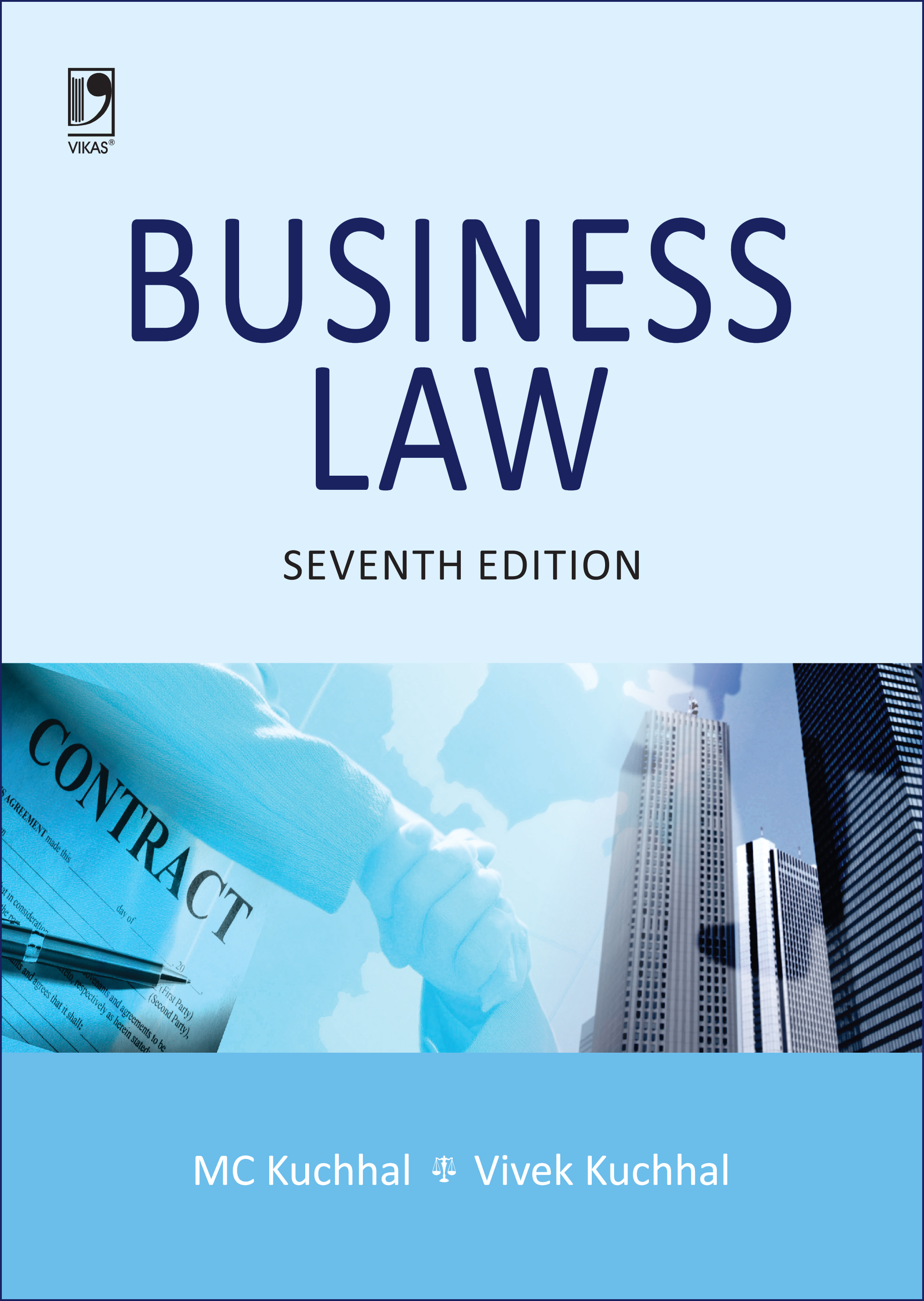 Business Law, 7/e  by M C Kuchhal