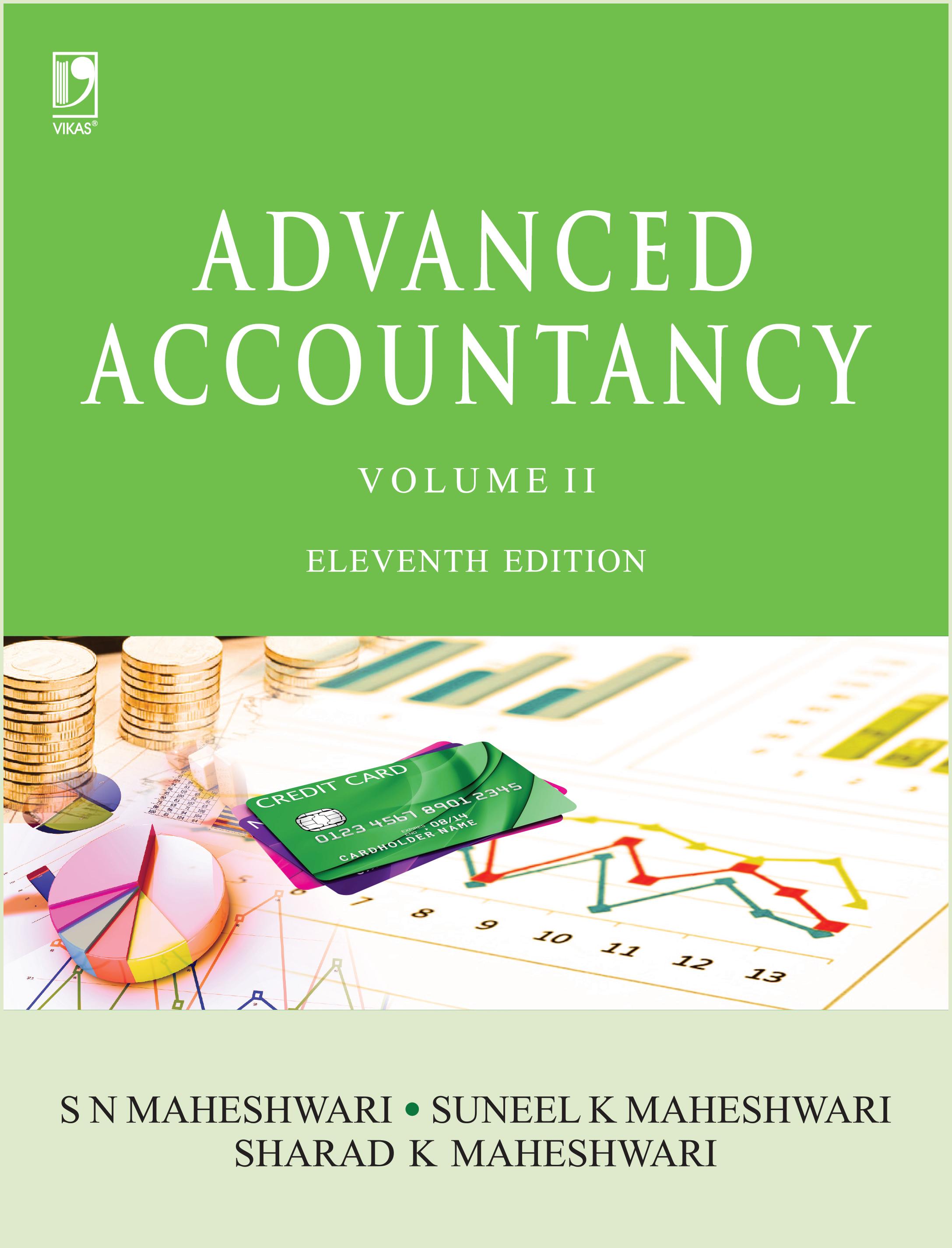 Advanced Accountancy Volume-II, 11/e