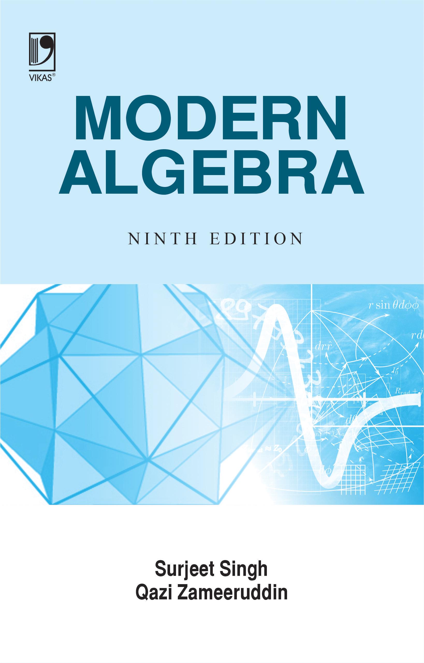 Modern Algebra, 9/e