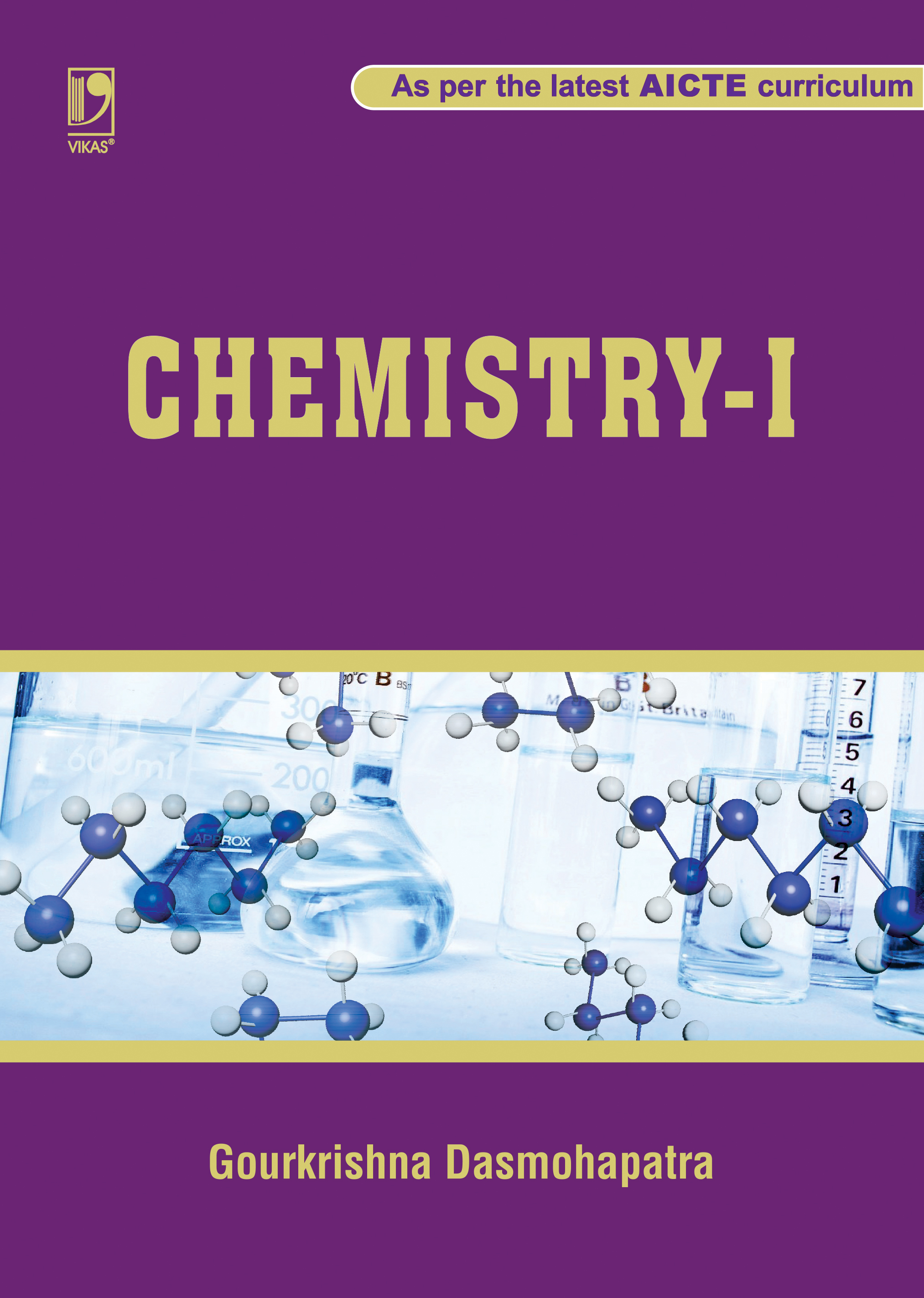 Chemistry-I (As per the latest AICTE curriculum) by  Gourkrishna Dasmohapatra