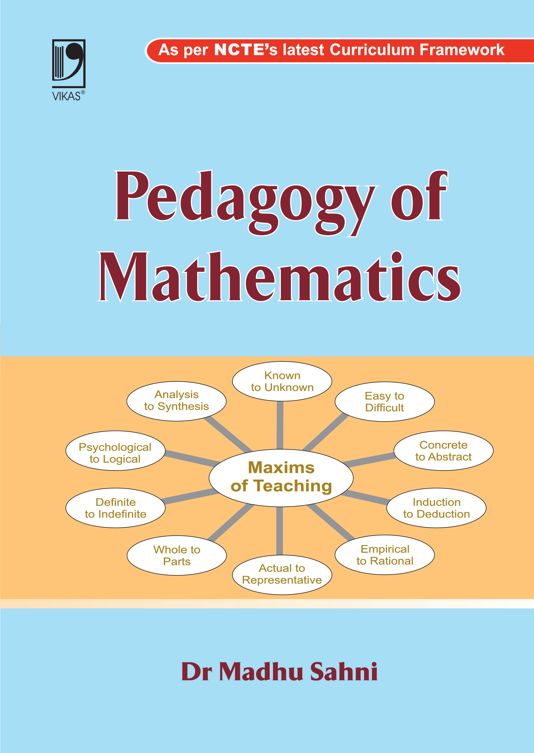 Pedagogy of Mathematics by  Madhu Sahni