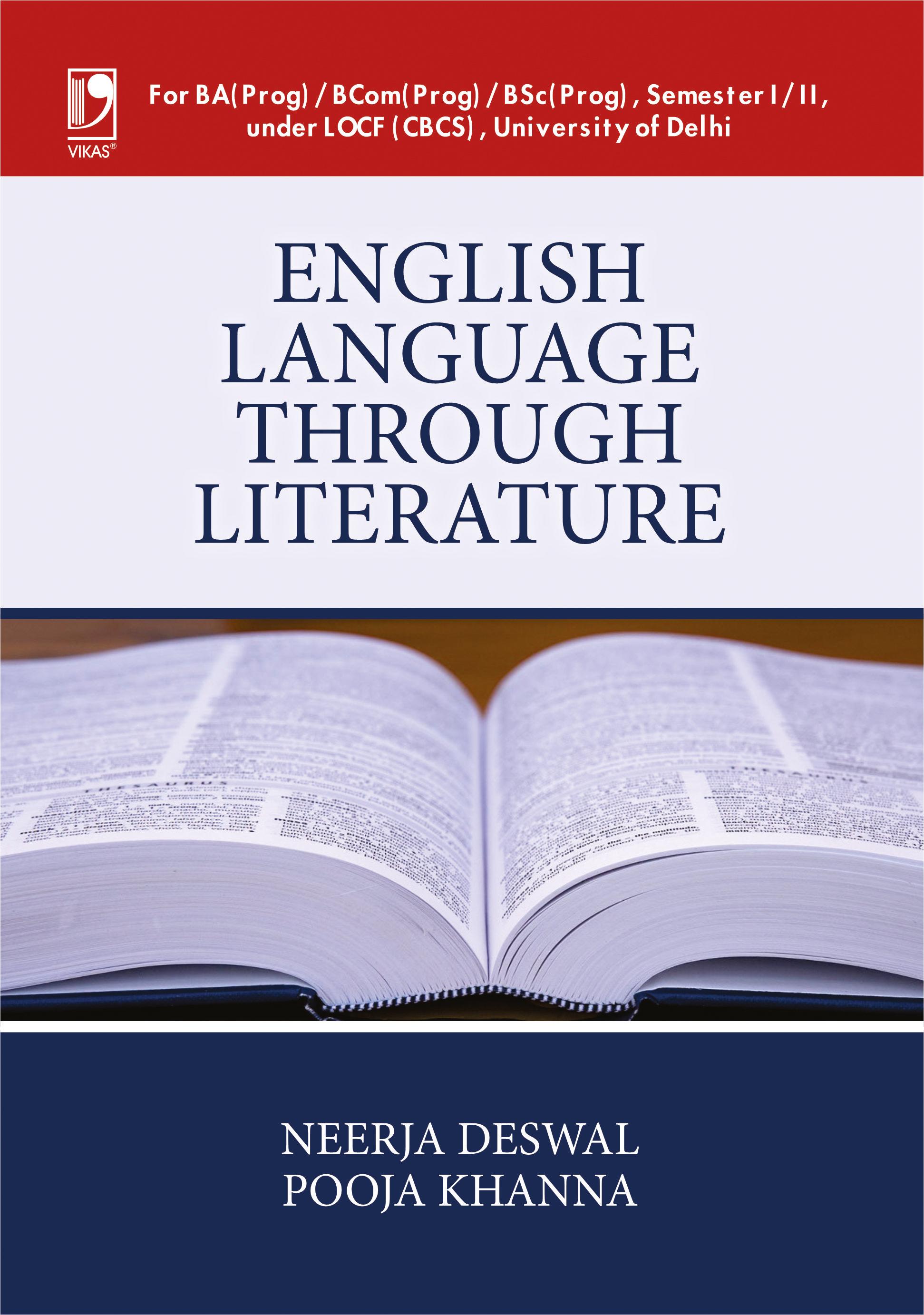 English Language Through Literature by Neerja Deswal