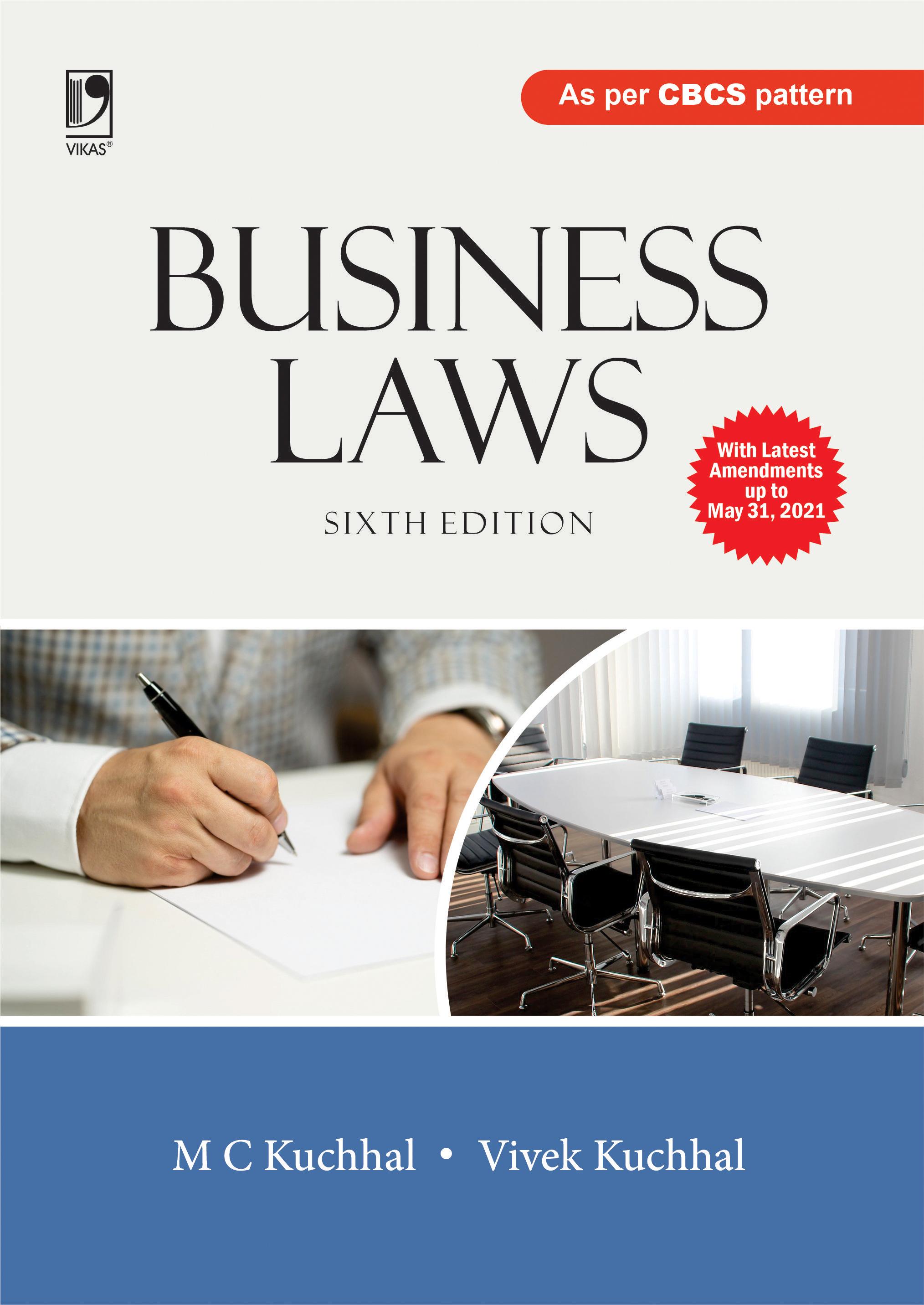 Business Laws, 6/e