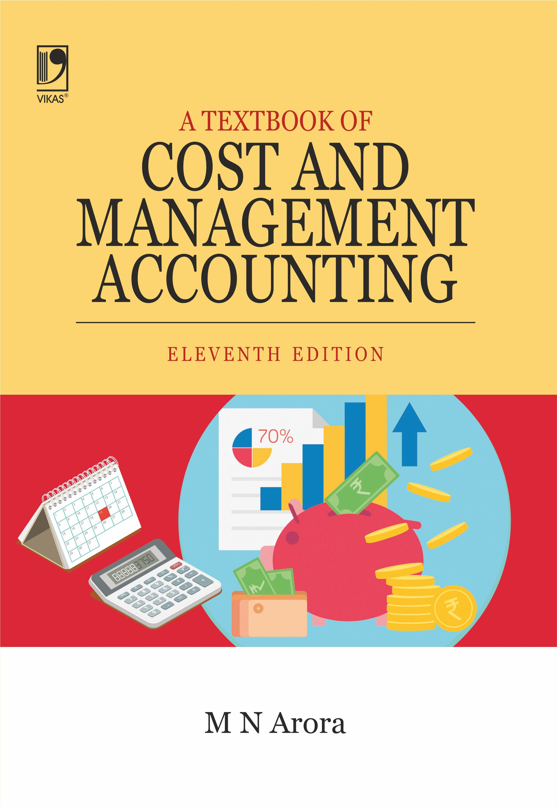 A Textbook of Cost and Management Accounting, 11/e